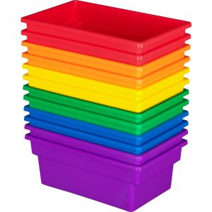 All-Purpose Bin - Set of 12 - 6 Colors