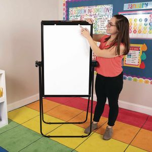Portable Magnetic Dry Erase Easel 35