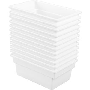All-Purpose Bin - Set of 12 White