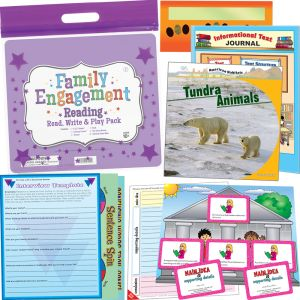 Family Engagement Reading - Read, Write and Play Pack - Fifth Grade