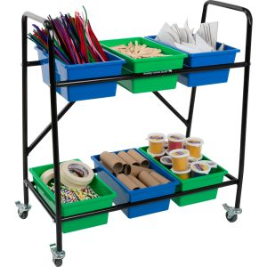 Makerspace Supplies Cart