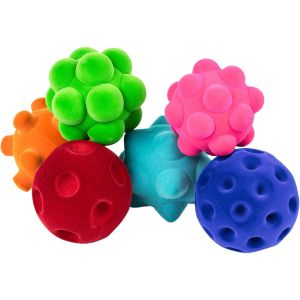 Sensory Textured Ball Assortment - Set of 6