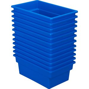 All-Purpose Bin - Set of 12 Blue