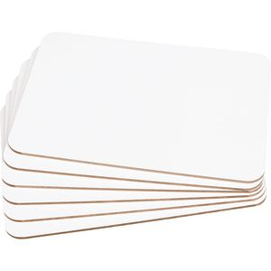 """9"""" X 6"""" Mini-Magnetic Dry Erase Boards - Set Of 6"""