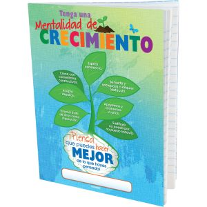 Spanish Growth Mindset Journals - Set of 12