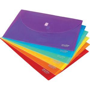 Homework Envelopes Hook-And-Loop Closure - Set of 12