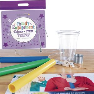 Family Engagement Science/STEM - Wonder, Discover and Explore Pack: The Sounds Of Science - Fifth Grade