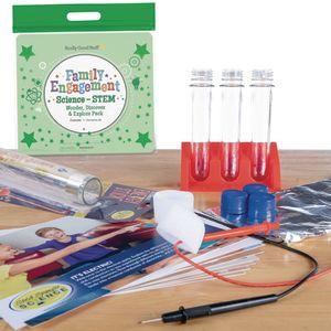 Family Engagement Science-STEM-Wonder, Discover & Explore Pack