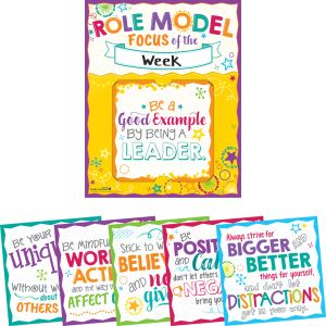 Be A Role Model 6-in-1 Poster Set