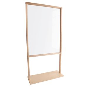 """See Through Room Divider, 24""""W"""
