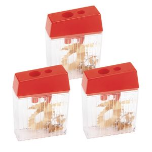 Colorations®Pencil Sharpener For Regular and Jumbo Pencils - Set of 3