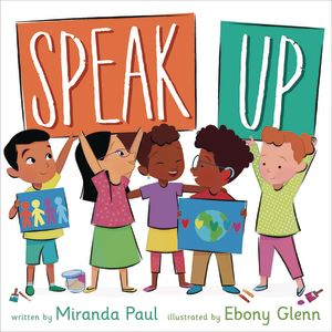 SPEAK UP HARDCOVER BOOK