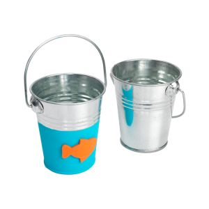 Colorations DYO Metal Pails, Set of 10