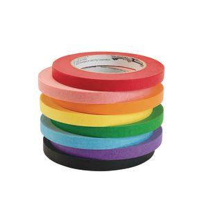 Colorations Masking Tape, 1/2 Inch - 8 Colors