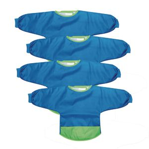 Colorations® Polyester Toddler Smock, Set of 4