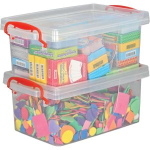 Stackable Storage Tubs With Locking Lids