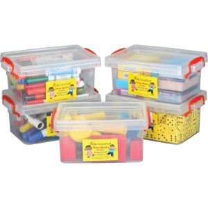 Stackable Storage Tubs With Locking Lid