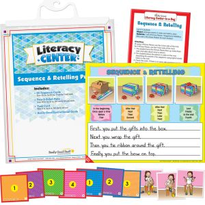 Sequence And Retelling Puzzles Literacy Center™