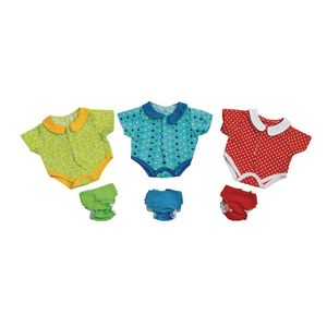 "Excellerations® Onesies and Diapers for 12"" - 14"" Dolls"
