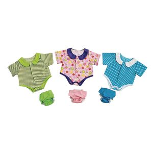 "Excellerations® Onesies and Diapers for 14"" - 16"" Dolls"