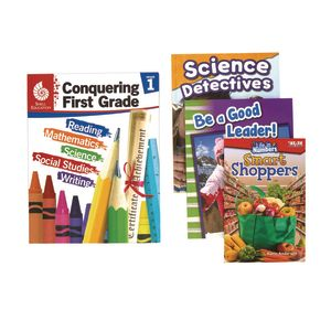 Excellerations Conquering First Grade, 4-Book Set