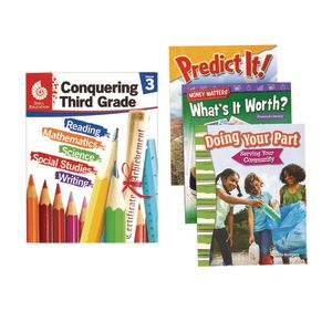 Excellerations Conquering Third Grade, 4-Book Set