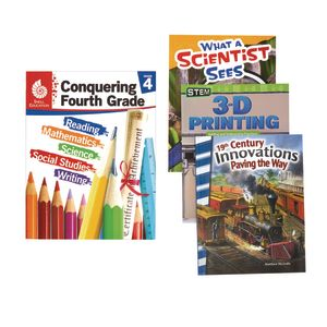 Excellerations Conquering Fourth Grade, 4-Book Set