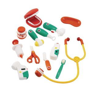 Environments® My First Soft Doctor and Dentist Set - 13 Pieces with Storage Bag