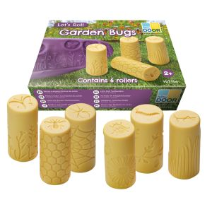 6 Stamper Rollers - Garden Bugs - 24 Different Stampers