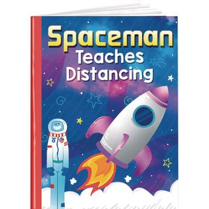 Spaceman Teaches Distancing Read Aloud Book