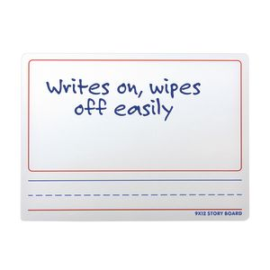 "9"" x 12"" Two-Sided Dry Erase Story Board"