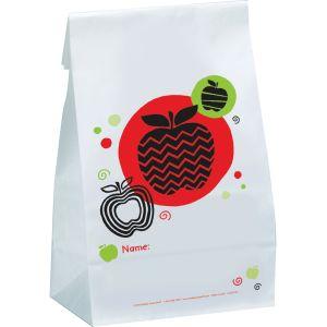 Apple Paper Bags - set of 36