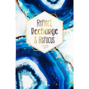 Reflect, Recharge & Refocus Poster