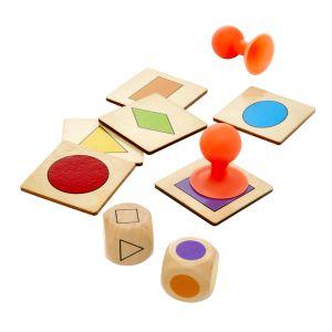 Stick the Shape - Color & Shape Identification Game