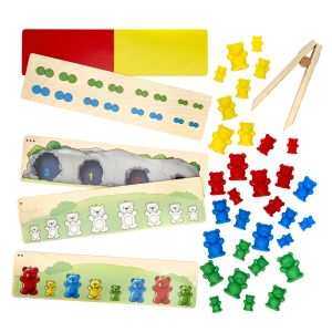 Sort the Bears - Counting & Sorting Fine Motor Activity