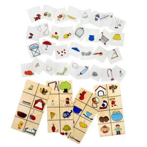 Complete the Item - Transparent Picture Matching Game