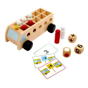 Mathematic Bus - Addition & Subtraction Game