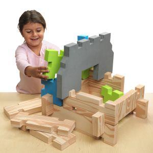 Excellerations® Jumbo Foam Block Building Set - 38 Pieces