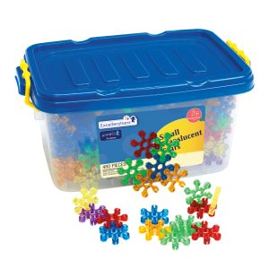 Excellerations® Small Translucent Stars - 480 Pieces