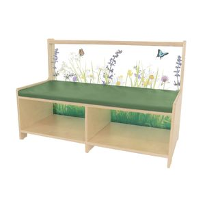 Nature View Sofa with Cushion