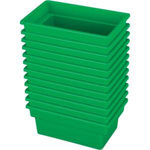 Small All-Purpose Bin, Set of 12 - Green