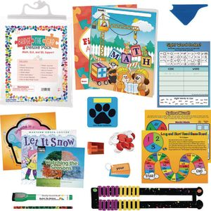 Bridge the Gap Deluxe Pack - Math, ELA and Social-Emotional Learning Support First Grade