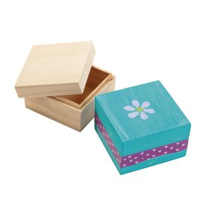 Colorations Decorate Your Own Wooden Box, 6 BOXES