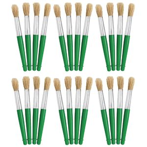 Colorations Jumbo Chubby Paint Brushes EA 4 BRUSHES, SET OF 6