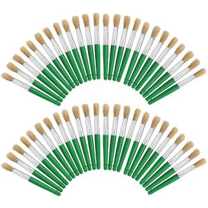 Colorations Jumbo Chubby Paint Brushes EA 4 BRUSHES, SET OF 12