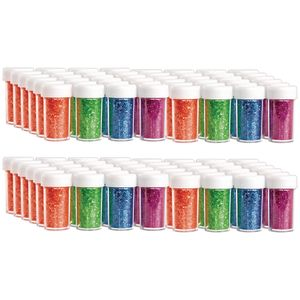 Colorations Neon Glitter - 24 Sets of 4 colors