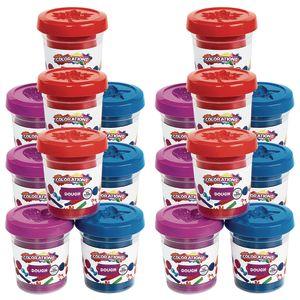 Colorations Play Dough Each 3 OZ, 3 CLRS, 6 SETS