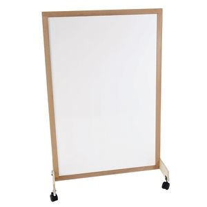 Whiteboard Room Divider with Casters
