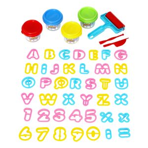 Play Dough Letters & Numbers Set