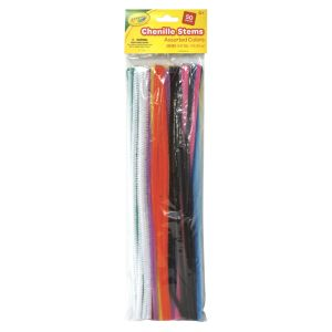 Crayola Asst Pipe Cleaners, Set of 50